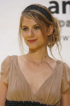 Melanie Laurent arriving for the amfAR's Inaugural Cinema Against AIDS, as part of the 2nd Rome Film Festival, held at the Spazio Etoile in Rome, Italy on October 26, 2007. Photo by Alessia Paradisi/ABACAPRESS.COM