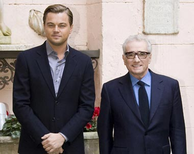 Leonardo DiCaprio and Martin Scorsese Feb. 9